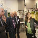Begrüßung der durch Prof. Thomas Hirth, Institutsleiter des Fraunhofer IGB