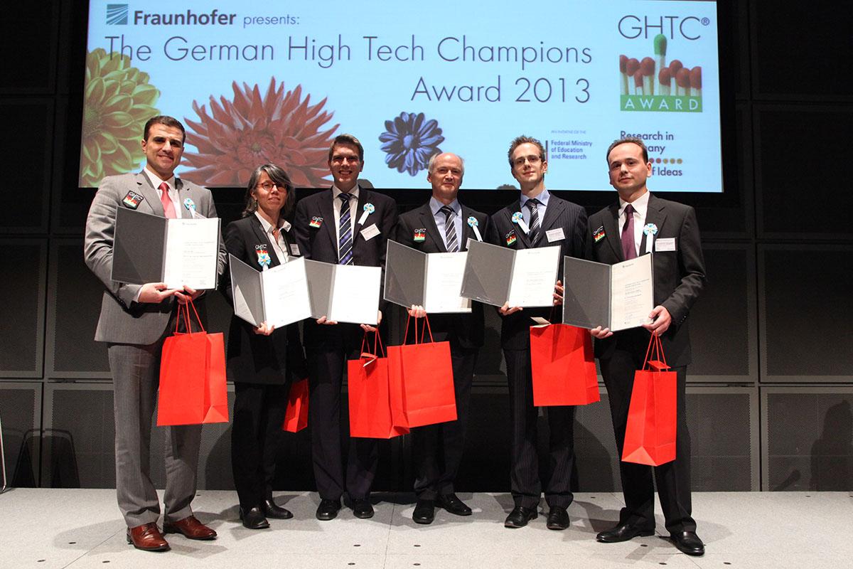 Unter den Preisträgern des GHTC in Tokyo war auch Prof. Dr. Peer Haller (3.v.r.)