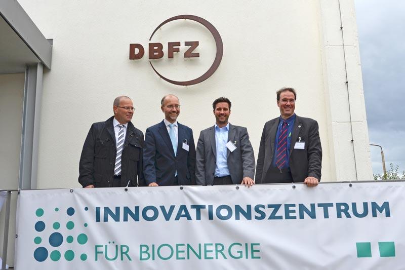 Eröffnung des Innovationszentrums für Bioenergie in Leipzig
