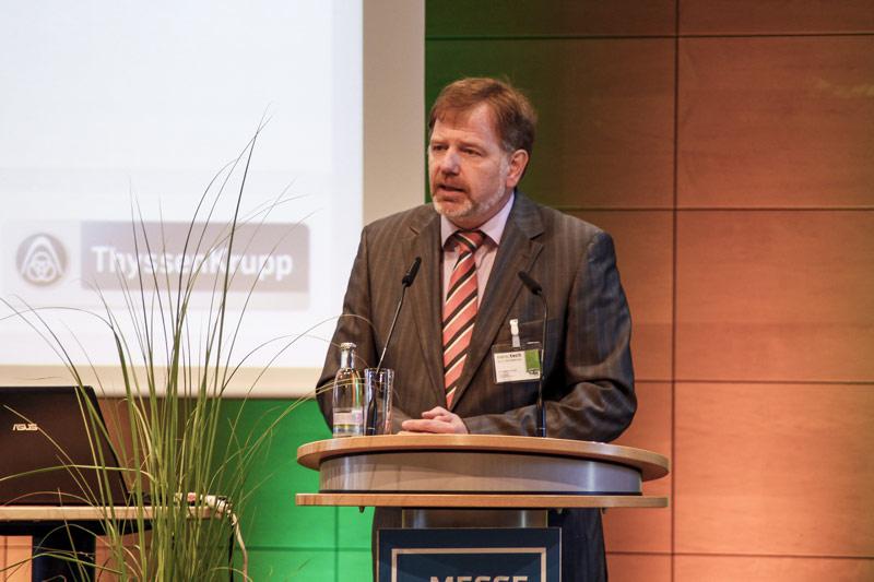Keynote-Speaker Dr. Joachim Schulze bei der naro.tech 2014