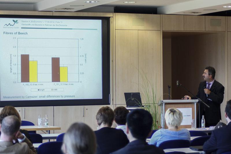 Erstmals gab es zur naro.tech 2014 eine eigene Bioökonomie-Session