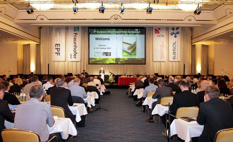 Gut 260 Experten nahmen am 9. Europäischen Holzwerkstoff-Symposium in Hannover teil. © Fraunhofer WKI