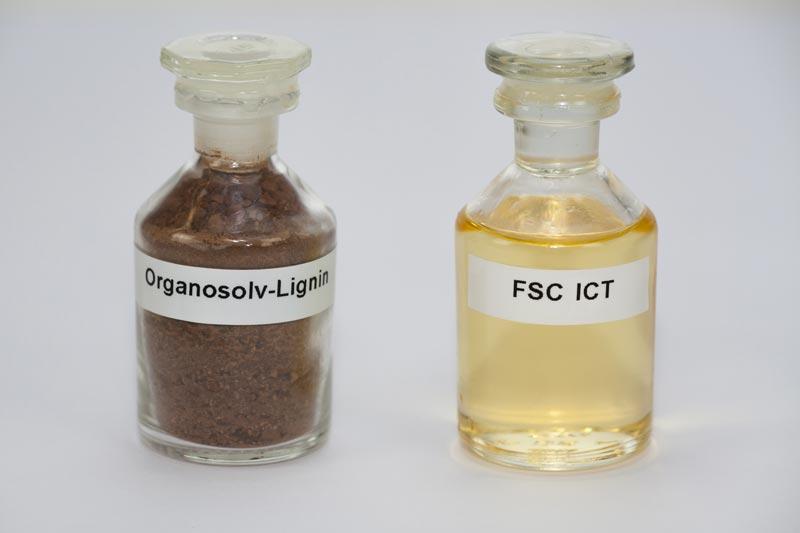 Ausgangsstoff Organosolv-Lignin und Aromaten