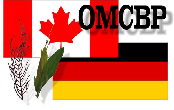 """Logo des Projektes """"Optimierte mikrobielle Umsetzung von Biomassereststoffen zur nachhaltigen Herstellung hochwertiger bioaktiver Diterpene"""" (OMCBP)"""