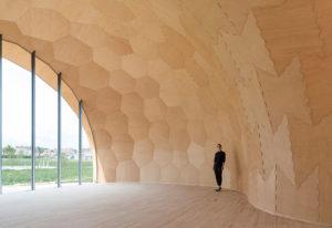 Blick in den Pavillon. © ICD/ITKE/IIGS Universität Stuttgart