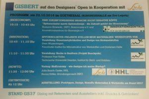 BioEconomy@Designers Open 2016 @ Kongresshalle Zoo Leipzig | Leipzig | Sachsen | Deutschland