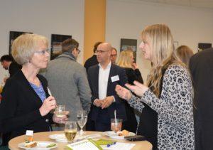 @ BioEconomy e.V.: im Gespräch Frau Dr. Kaaden Hochschule Merseburg und Frau Busch-Casler von der HHL