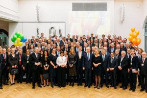Niederländische Wirtschaftsdelegation mit Königspaar Willem-Aleaxander und Máxima.  Foto: © Michael Bomke / NL Botschaft
