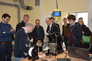 3D-Druck Herr Glatz zeigt Anwendungen an der HS Merseburg