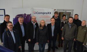 Exkursion zur CompraXX GmbH beim 9. BioEconomy BusinessTreff am 22.3.18