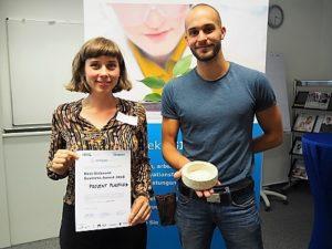 Projekt Plastizid von Clara Fernau = Sieger des Best Biobased Business Awards der HHL 2018