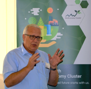 Matthias Zscheile auf dem BioEconomy BusinessTreff am 4.9.18