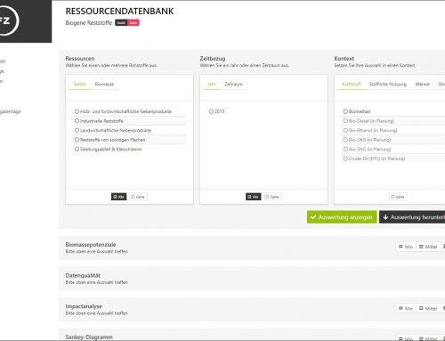 News von Mitgliedern: DBFZ veröffentlicht Ressourcendatenbank für biogene Reststoffe